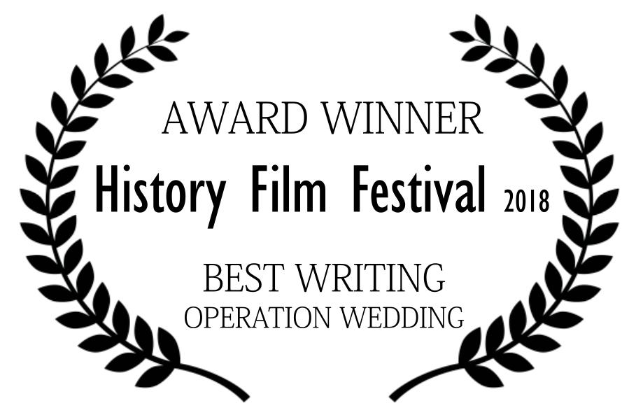 award - best writing - histroy film fest