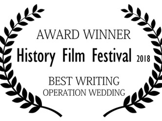 Best Writing Award  - History and Film Festival, Croatia