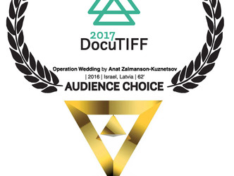 AUDIENCE CHOICE AWARD at docuTIFF! Tirana International Documentary Film Festival