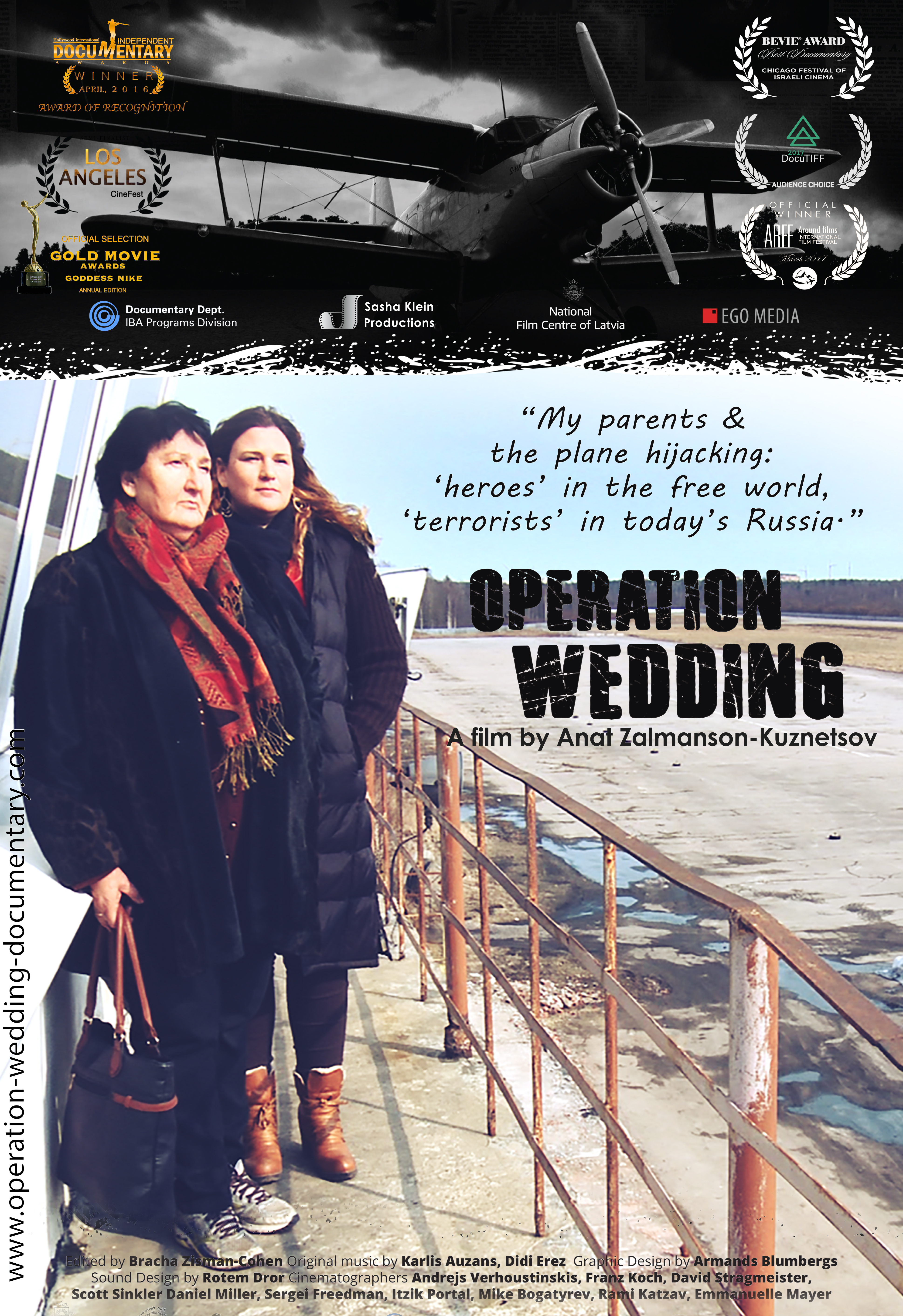 English Poster Operation Wedding