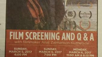 The Jewish Federation of Cleveland PREMIERES + Q&A with filmmaker Anat Zalmanson Kuznetsov