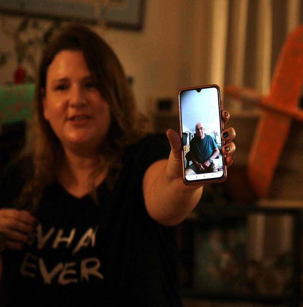 שיחת וידאו מניו גרזי עם ישראל זלמנסון -