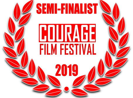 Semi-Finalist-  Courage Film Festival, Berlin