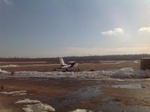 Smolnye Airport, Russia