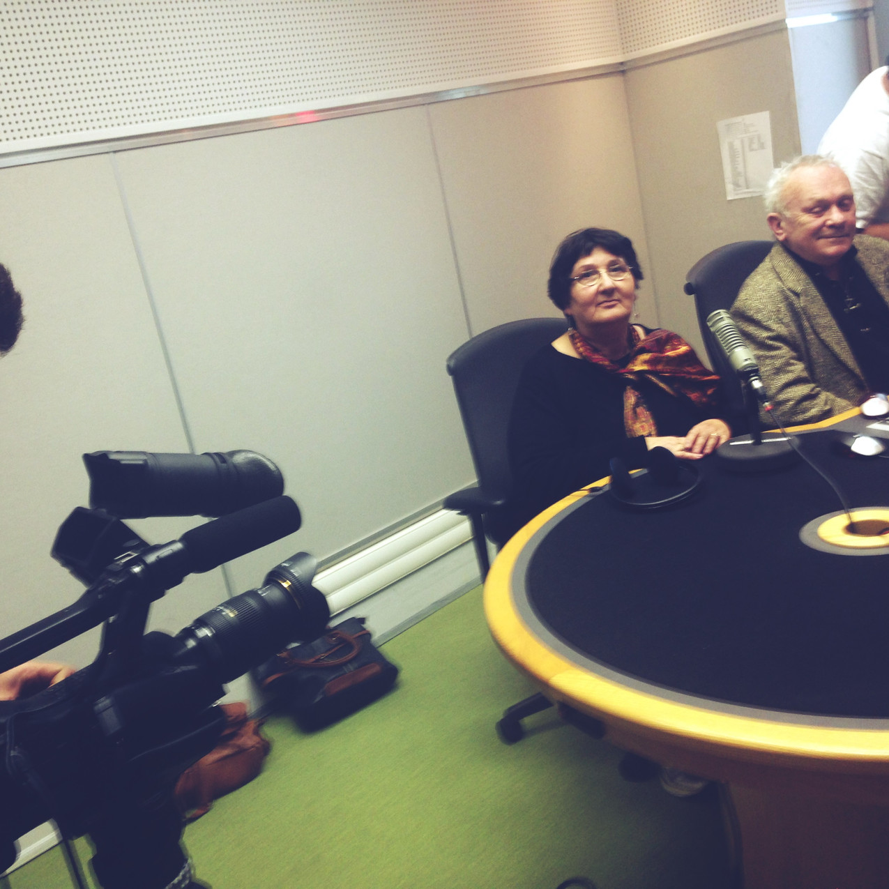 interview for BBC - Sylva and Edward FEB 2015