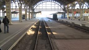 Train statoin St Petersburg