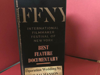NYC: Best Feature Documentary Award at International Filmmaker Festival of New York