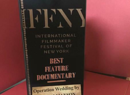 NYC: Best Feature Documentary Award at International Filmmaker Festival of New York