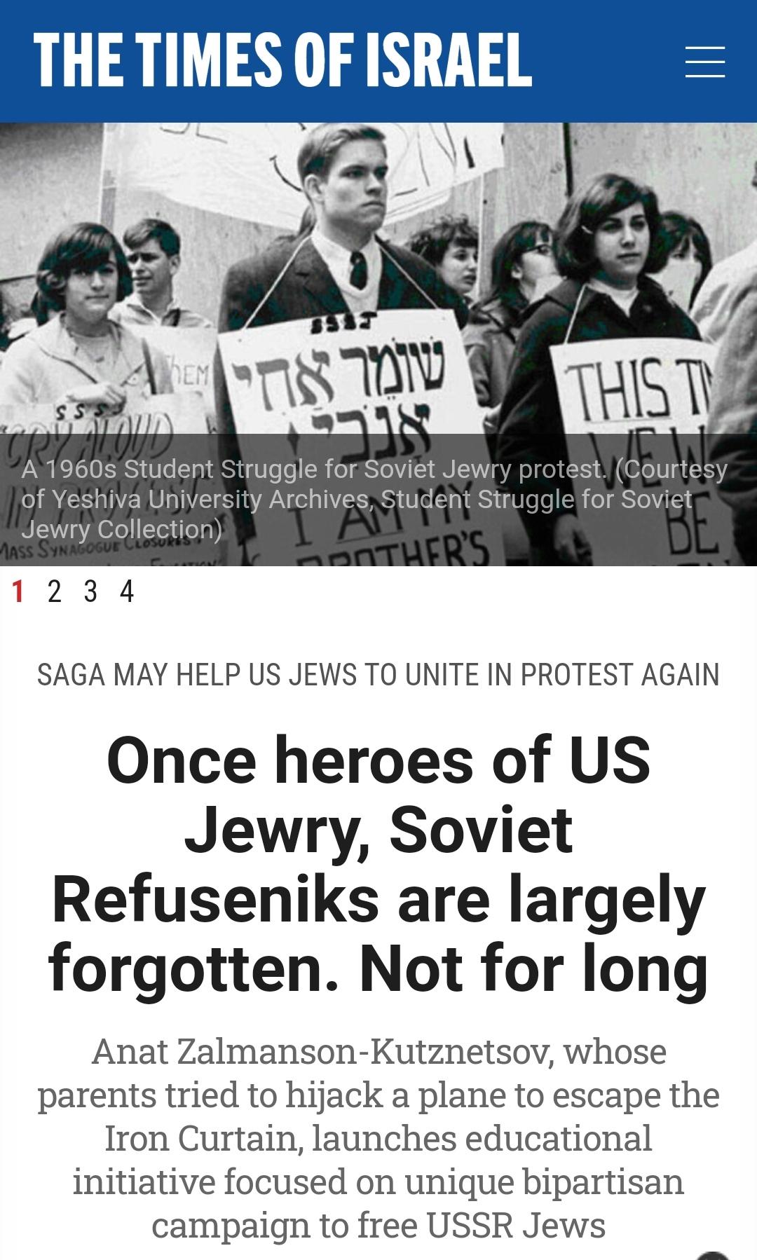 Once heroes of US Jewry, Soviet Refu