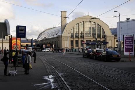 Riga train station