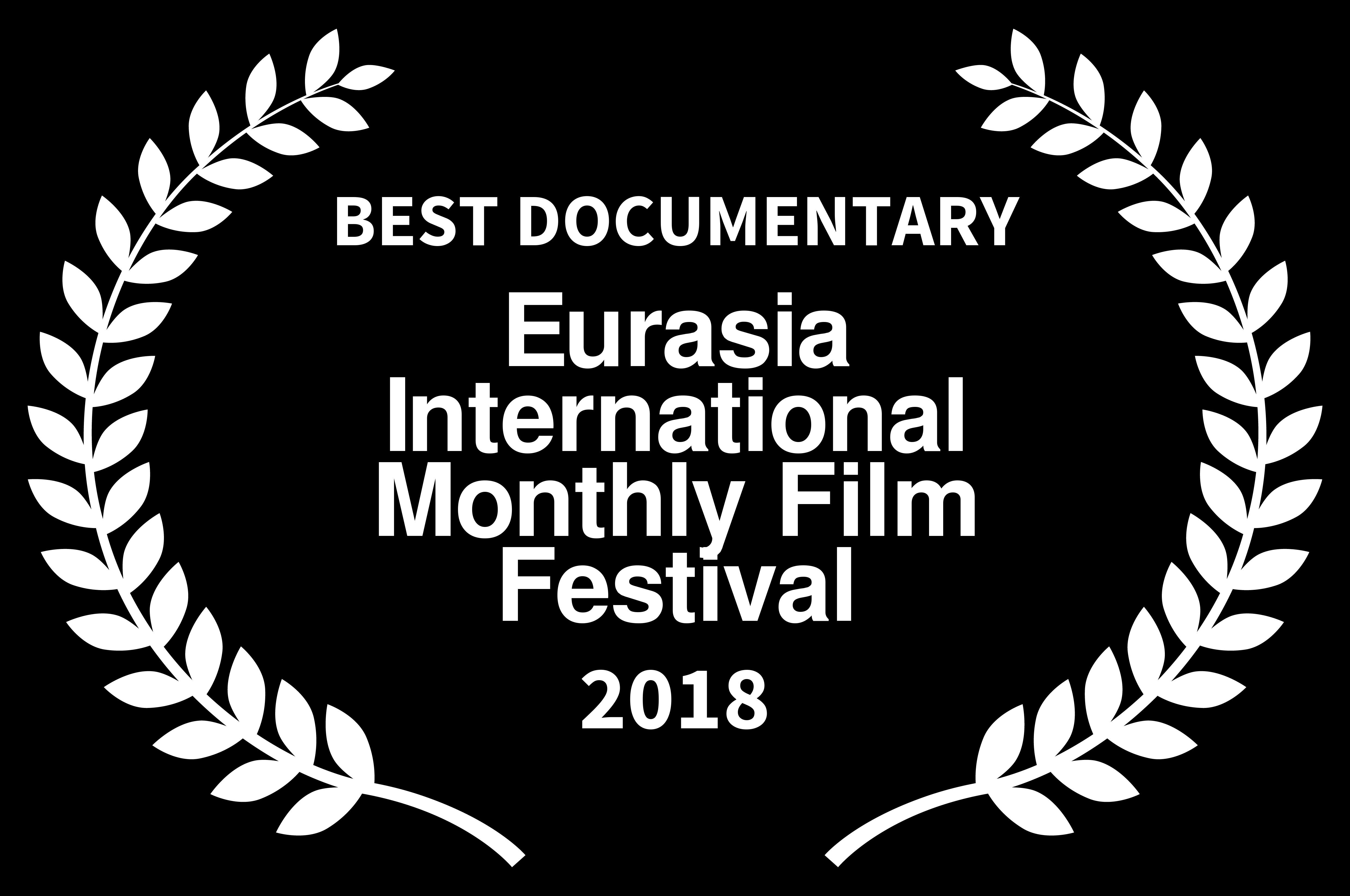 BEST_DOCUMENTARY award Operation Wedding anat zalmanson kuznetsov eurasia 2018 black