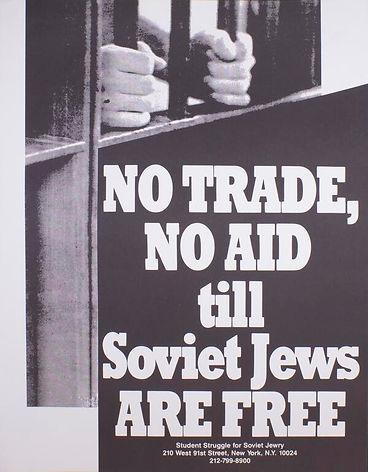 No trade no aid poster Student Struggle