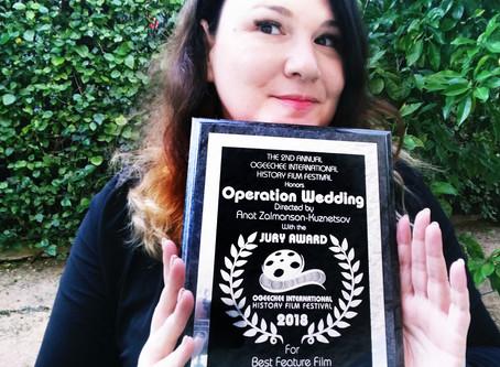 AWARDS - Operation Wedding, documentary