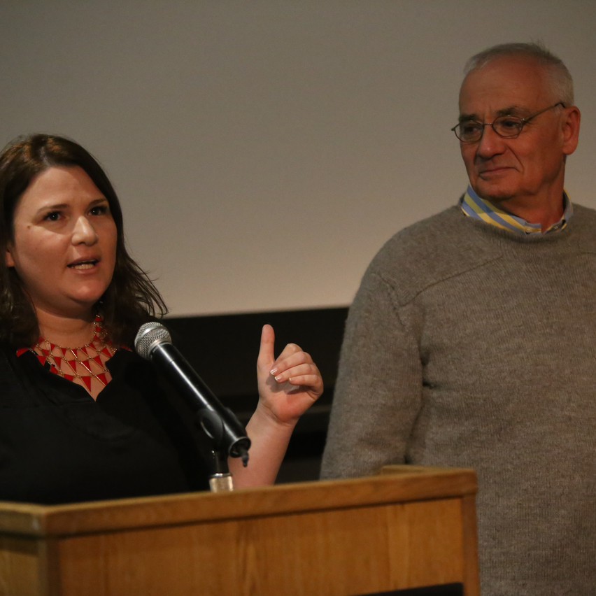 Israel Zalmanson and Director Anat Zalmanson-Kuznetsov