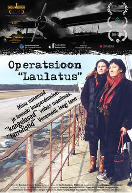 Poster in Estonian - Operation Wedding