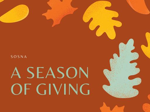 A Season of Giving (& Receiving)