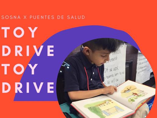 Toy Drive for Puentes De Salud