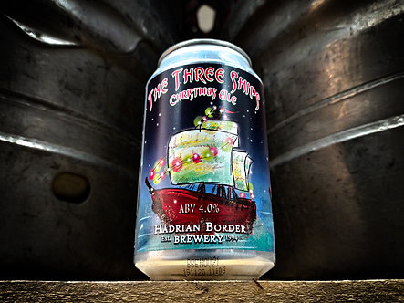 The Three Ships Christmas Ale 330ml Can (x12)