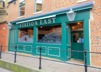 Station East front