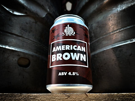 American Brown 330ml Can (x12)