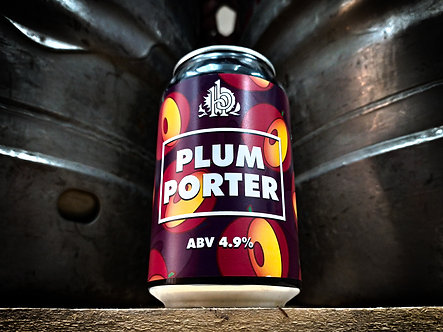 Plum Porter 330ml Can (x12)