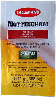 Yeast - Lallemand Nottingham Ale (11g)