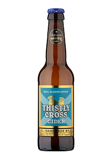 Thistly Cross Elderflower 500ml Bottle (x12)