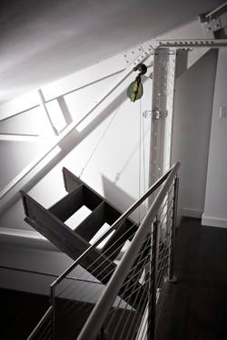 drawbridge stairs