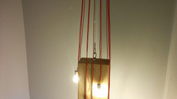 block pendant light