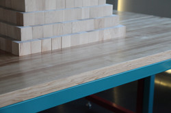 levitated toy factory table