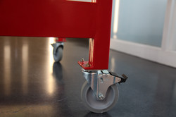 levitated toy factory cart