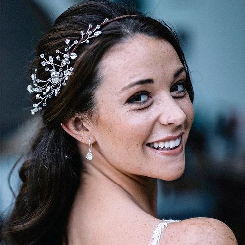 Emily Jewelled Headband / Vine