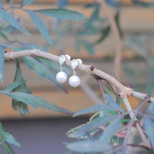 Alyssa Pearl Drop Earrings
