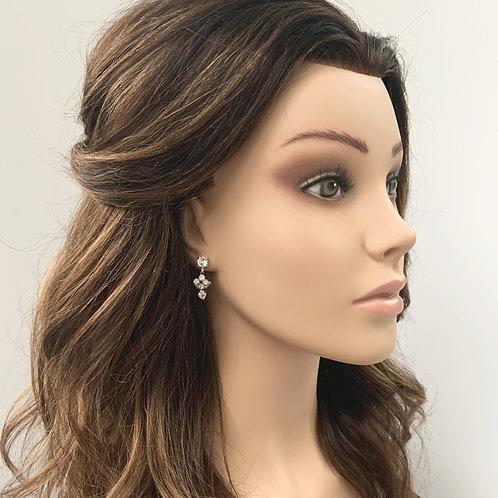 Baguette & Diamond Cut Earrings