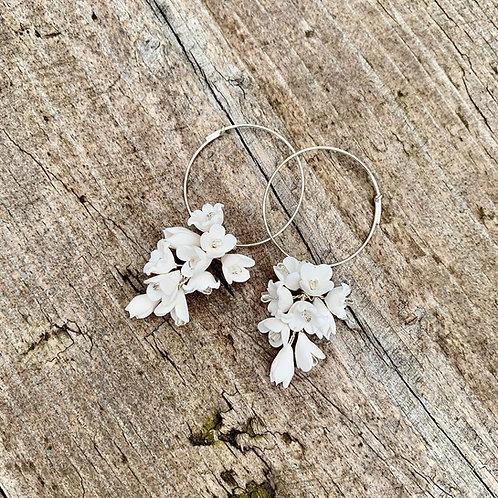 Penelope Floral Drop Earrings