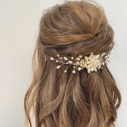 Amelia Jewelled Hair Comb