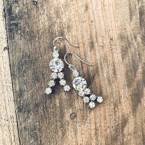 1950s Double Drop Earrings