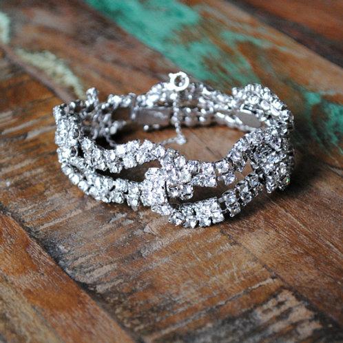 Vintage Diamanté Bracelet