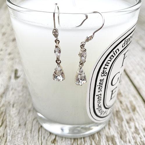 Liza Crystal Earrings