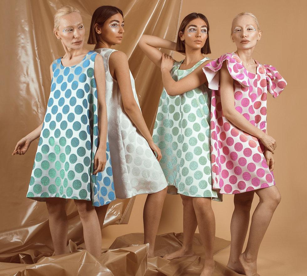 Maven Label make one dress per design.