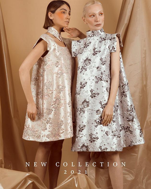 Brisbane based fashion label with Italian jacquard fabrics