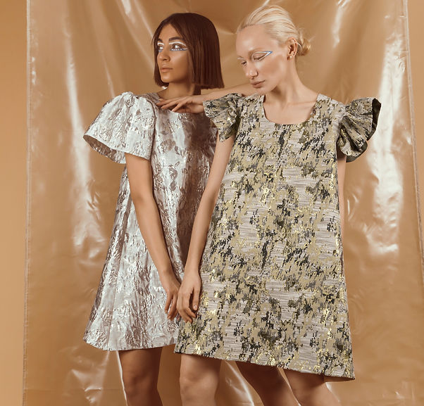 two beautiful women dresses from our occasional wear collection