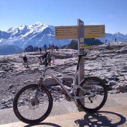 Mountain biking on the Grand Platières