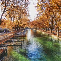 Annecy in Autumn