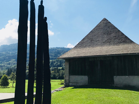 Art in the Alps - the Giffre sculpture trail