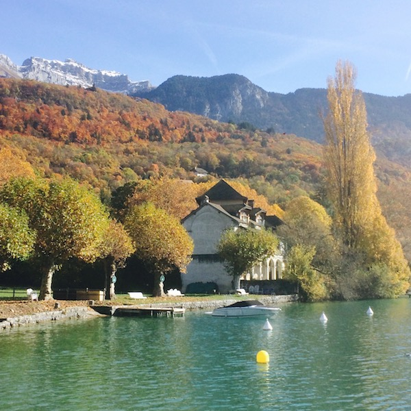 Autumn colours - Talloires