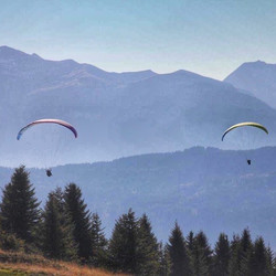 Parapenting late Summer