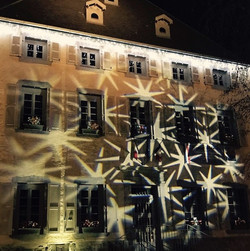 Annecy town hall - Christmas lights