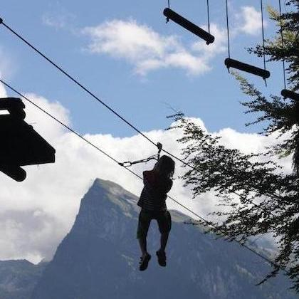 Tree top adventures - Lac Bleu