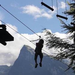 Tree top adventures - Lac Bleu